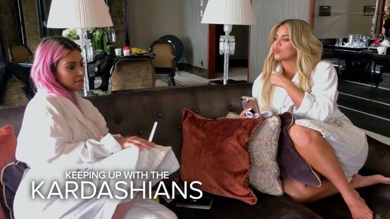 KUWTK | Kim Kardashian to Sisters You Look Like F--king Clowns! | E!