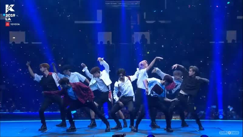 190819 Stray Kids (스트레이 키즈) - Side Effects Talk Victory Song MIROH My Pace @ 2019 KCON in LA