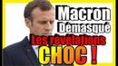 Macron démasqué La justice et les médias à son service