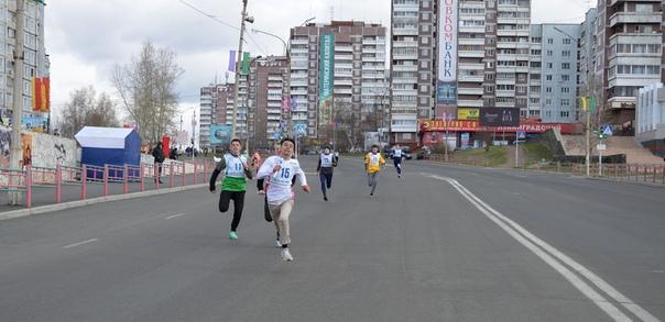 В Усть-Илимске в День Победы состоялась легкоатлетическая эстафета