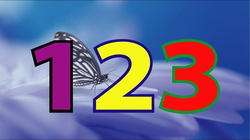 1 to 20 NUMBER 3D ANIMATION Counting Number song 1 20 for children