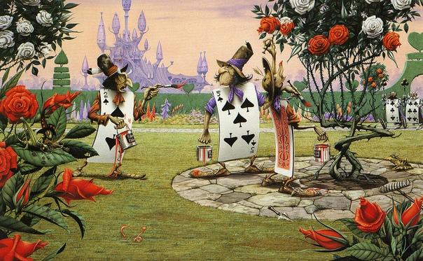 Причудливые иллюстрации к «Алисе в стране чудес», «Властелину колец» и рок-пластинкам от Родни Мэттьюза