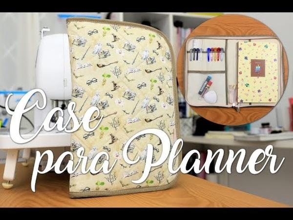 Passo a Passo - Case para Planner/Agenda (com zíper)