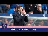 REACTION Steven Gerrard Rangers 2-0 Aberdeen