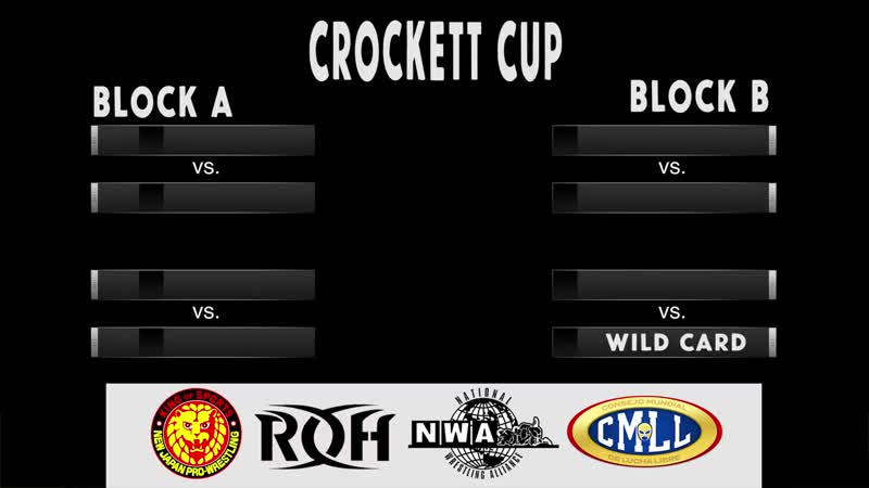 NWA Crockett Cup Bracket Reveal (2019)