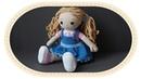Вязаная кукла крючком Розали Crochet doll Rosalie