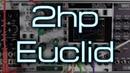2hp Euclid (euclidean rhythm generator)