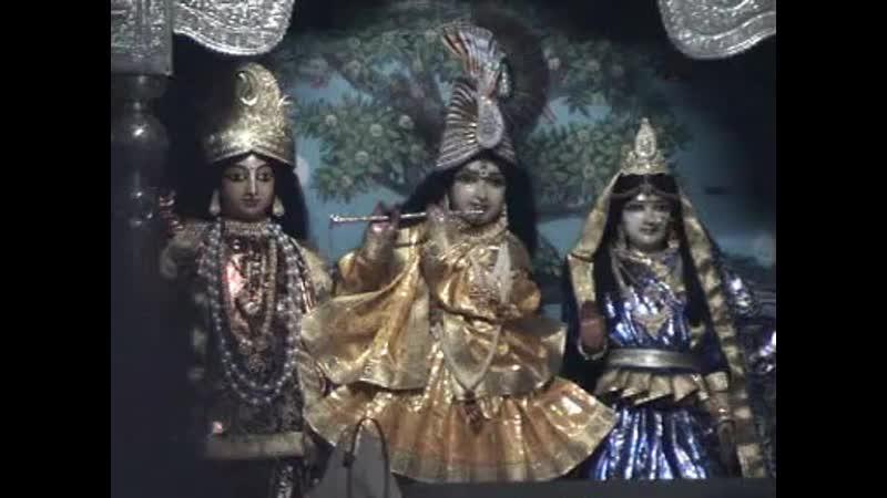 Festival, Moscow 2001. Srila Narayana Maharaja