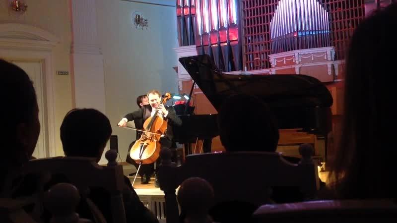 Ф. Шуберт. Соната «Арпеджионе» для виолончели и фортепиано