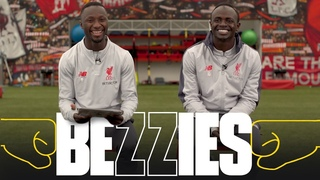BEZZIES with Mane and Keita | Sadio's hair cut makes me late