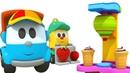 Adventures of Leo the Truck Ice-cream - A Childrens Toys Cartoon