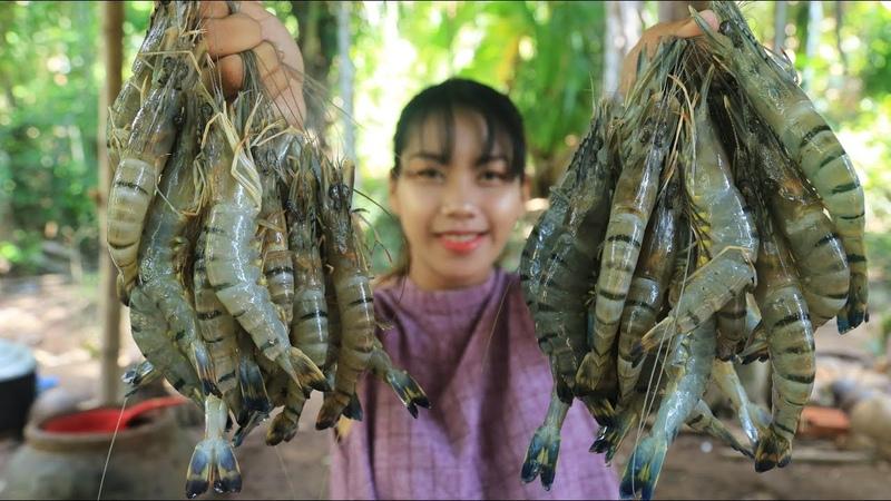 Yummy cooking Tong Yam shrimp recipe Cooking skill