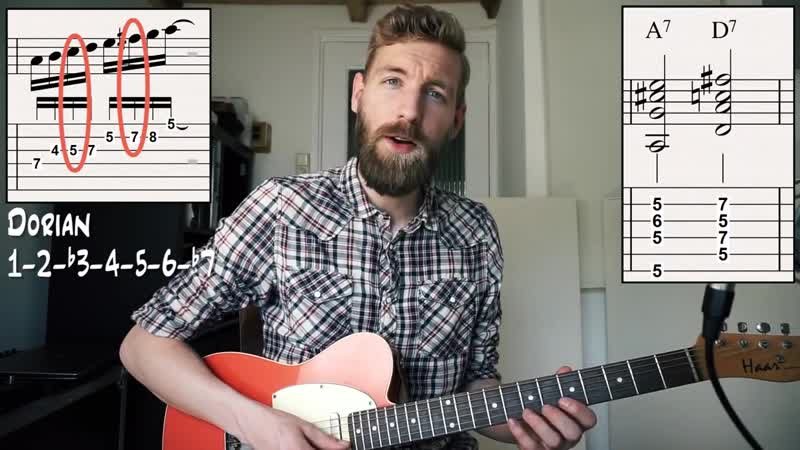 Mix BLUES Licks With Chords _ 12 bar blues TABS