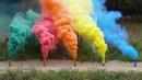 Цветной дым Smoke Fountain