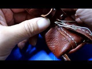 ~making miniature backpack