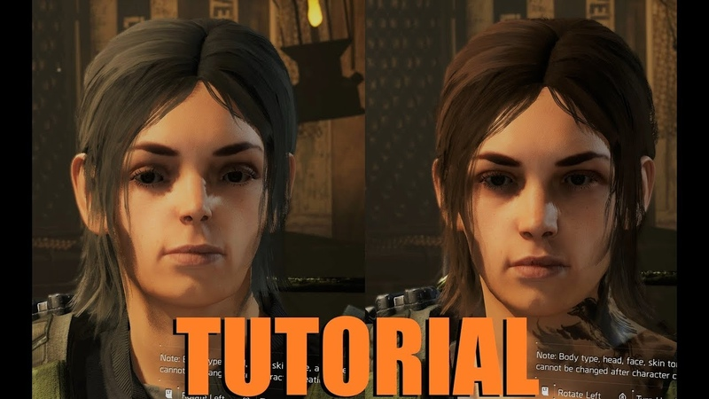 The Division 2 Attractive Female Characters Tutorial 4K