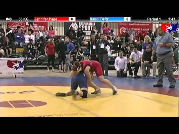 2011 U S Open FRI WM 63 KG Jennifer Page vs Randi Beltz Quarterfinal