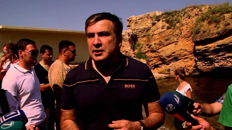 Открытие пляжа захваченного киевским миллиардером бывшим депутатом Хмельницким