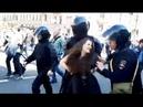 ПУТИНСКИЙ ПЕРВОМАЙ: полицаи сломали женщине руку на демонстрации в Санкт-Петербурге 1 мая 2019 года