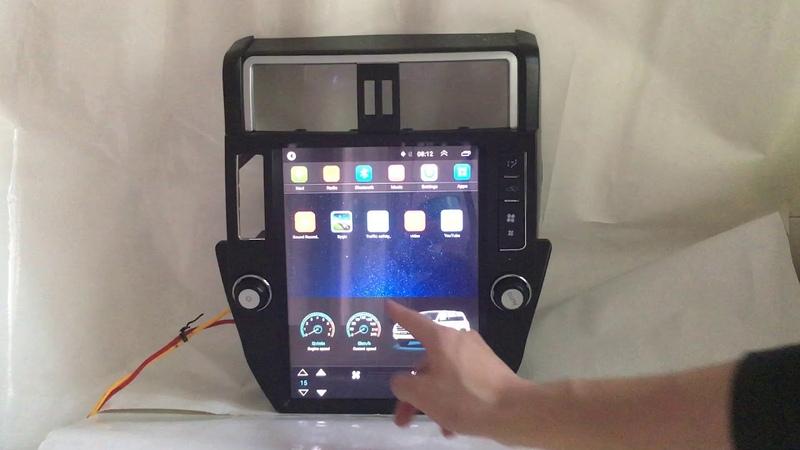 Tesla Android Car Multimedia Stereo GPS Sat Nav Head Unit for Toyota Land Cruiser Prado 2010-2016