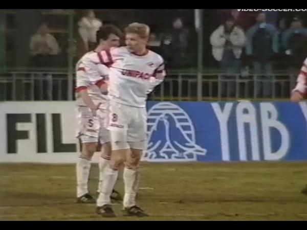 Спартак (М) vs Фейеноорд / 18.03.1993 / Spartak Moscow - Feyenoord Rotterdam