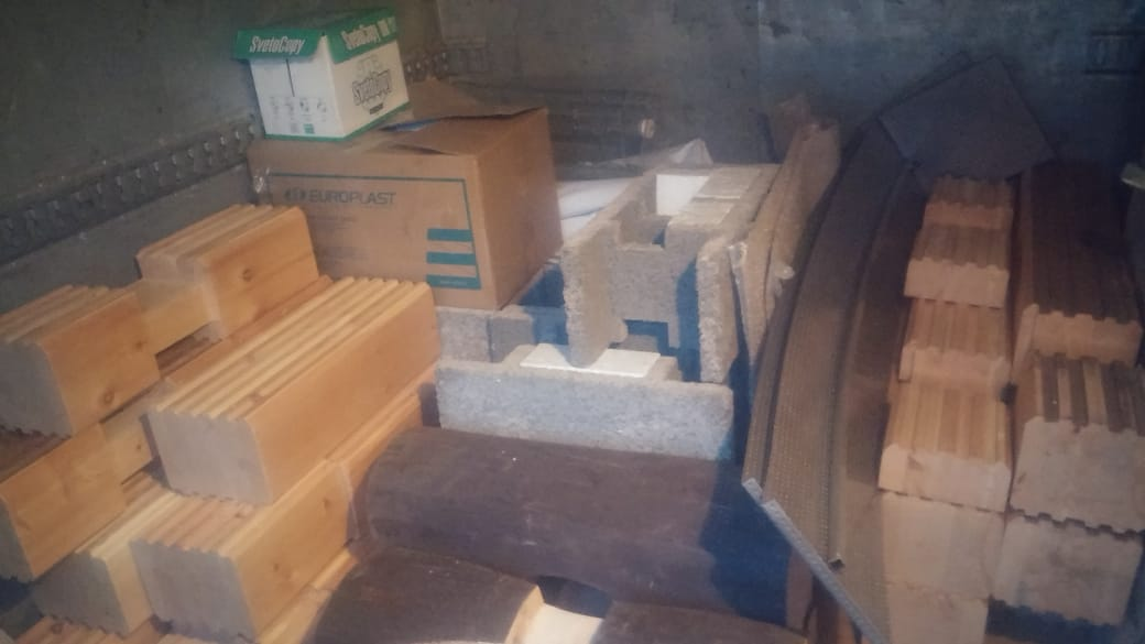 Экспедиция грузов и выезд стенда со строительной выставки. 2ALJlHd8Qs4