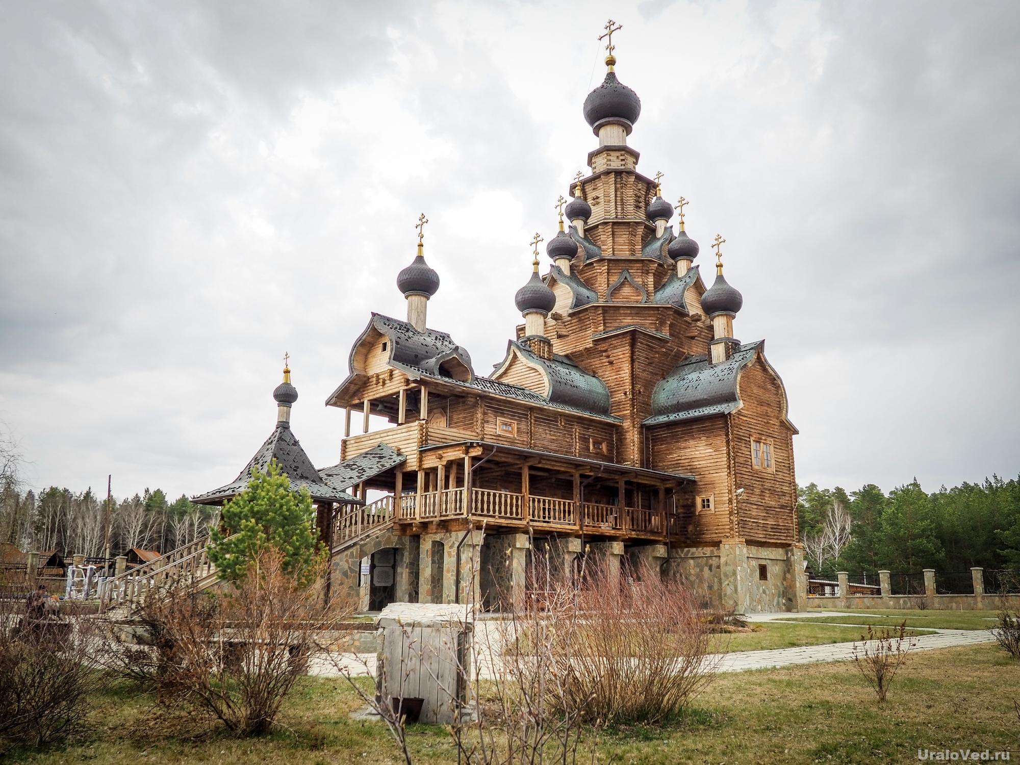 Церковь в Верхней Санарке