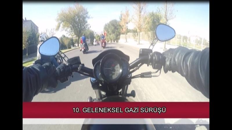 10 Geleneksel Gazi Sürüşü Harley Davidson Ankara