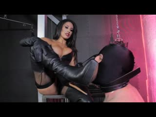 Cybill troy femdom - tangent tangents leather boot bust mistress
