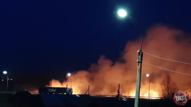 Пожар Гороховец ТН_33