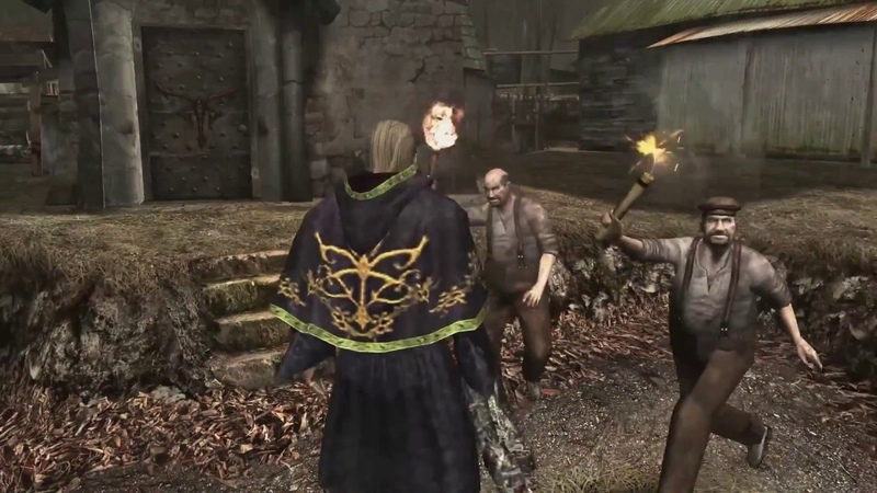 Resident Evil 4 Mod Osmund Saddler forma humana por Hunk v.1.0