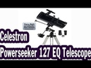 Celestron Powerseeker 127 EQ Telescope unboxing and review ENTRY LEVEL TELESCOPE