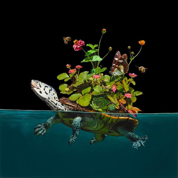 Гиперреализм: Вымышленная морская среда