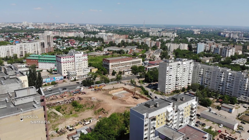 Строительство ЖК «Космолёт» — 32 этажа город Самара Russia