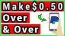 Make $0.50 Over And Over Unlimited Times - Earn Money Reading News
