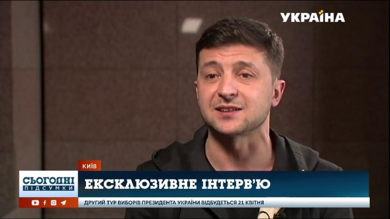 Ексклюзивне інтерв'ю Володимира Зеленського