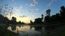 Восход солнца, вид с пристани г.Суджа