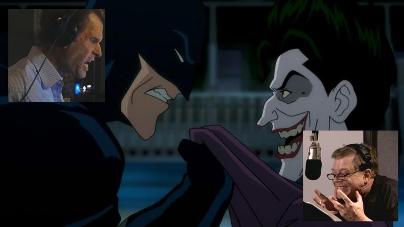 Batman and Joker Voice Actors Behind the Scenes Kevin Conroy and Mark Hamill