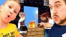 СКАЙБЛОК С ПАПОЙ 5 КАК ПОСТРОИТЬ ПОРТАЛ В АД МАЙНКРАФТ Выживание Skyblock Minecraft Artemedia