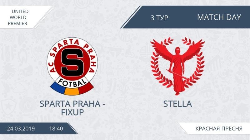 AFL19. United. World Premier. Day 3. Sparta Praha - Stella