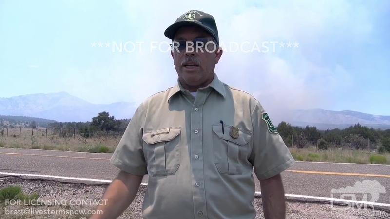 06-22-19 Capitan, NM - Pine Lodge Fire