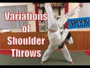 Variations of Shoulder throw Seoi nage Seoi Otoshi Ippon Seoi Nage