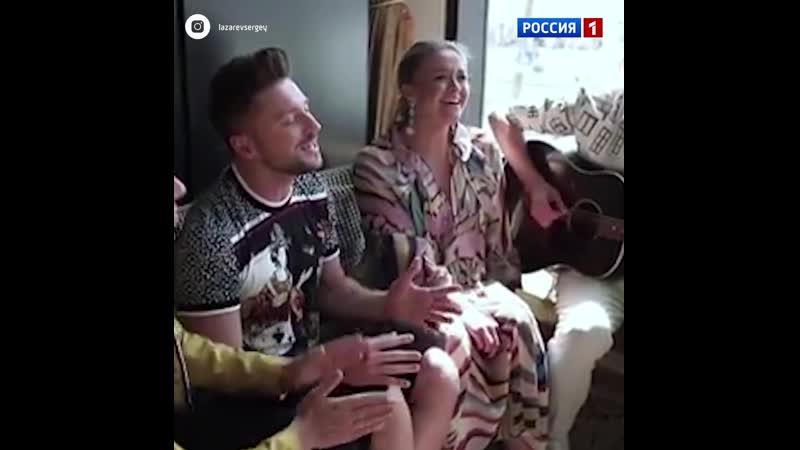 Лазарев поёт песню «Scream» – Россия 1