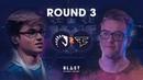 BLAST Pro Series São Paulo 2019 Round 3 - Liquid vs. FaZe Clan