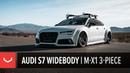 Audi S7 on Vossen Forged M-X1 3-Piece Wheels