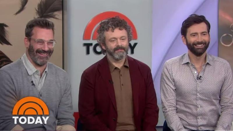 Jon Hamm, Michael Sheen And David Tennant Talk 'Good Omens'   TODAY