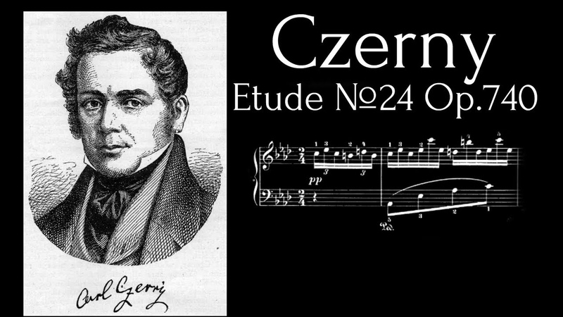 Carl Czerny - Etude №24 (As-Dur) Op.740 (With MIDITrail Sheets)