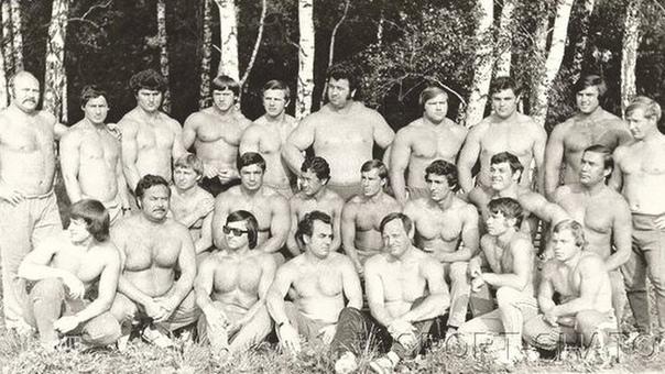 Сборная СССР по тяжёлой атлетике.
