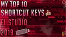 My Top 10 Shortcut Keys FL Studio Quick Workflow 2019