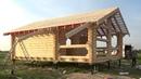 Сруб дома 6 0х9 0м с террасой Новая Екатериновка Цена в СПб 263 022 руб